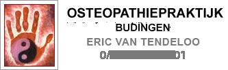 Osteopathiepraktijk Vlaams-Brabant - BudingenEric Van Tendeloo - Budingen